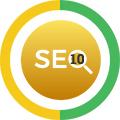 10 Keywords SEO Icon